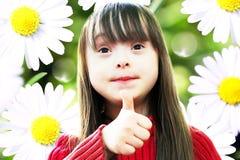 Retrato de la chica joven hermosa Fotografía de archivo libre de regalías