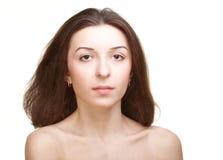 El retrato de la muchacha Imagen de archivo libre de regalías