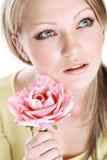 El retrato de la muchacha hermosa Imagen de archivo