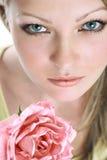 El retrato de la muchacha hermosa Fotografía de archivo