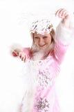 El retrato de la muchacha hermosa Fotos de archivo libres de regalías