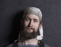 El retrato del herrero foto de archivo