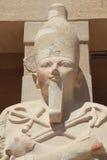El retrato del rey egipcio Imagen de archivo