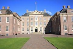 El retrete histórico del Het del castillo, los Países Bajos Fotografía de archivo