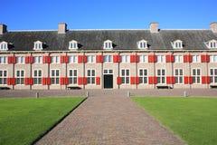 El retrete histórico del Het del castillo, los Países Bajos Foto de archivo libre de regalías