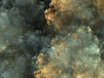 El reventar de la nube fotografía de archivo libre de regalías