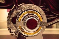 El Rey cukierek barwił lowrider Chevrolet 1963 Impala artysty Al Zdjęcia Stock