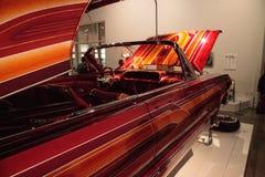 El Rey cukierek barwił lowrider Chevrolet 1963 Impala artysty Al Zdjęcia Royalty Free