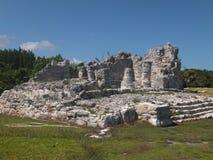 El Rey Ruins in Mexico Royalty Free Stock Images