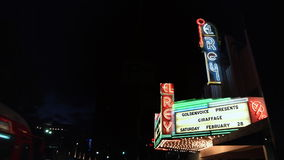 El Rey Theater stock footage