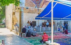 El rezo musulmán, Antalya Foto de archivo