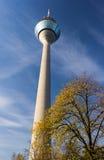 El Rheinturm Fotografía de archivo