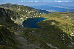 El riñón, los siete lagos Rila, montaña de Rila Fotografía de archivo