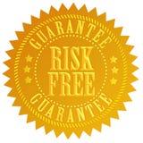 El riesgo libera el icono Fotografía de archivo libre de regalías