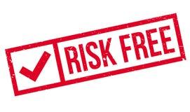 El riesgo libera el sello de goma Fotos de archivo libres de regalías