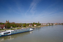 El Rin en Speyer Imagen de archivo