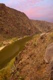 EL Rio Grande Imagenes de archivo