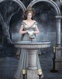 El rito del agua ilustración del vector