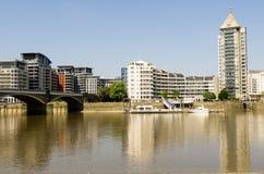 El río Támesis Imagen de archivo libre de regalías