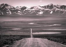 El Roadless viajada Fotos de archivo libres de regalías