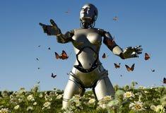 El robot libre illustration