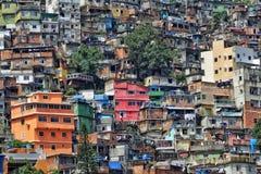 El Rocinha Favela, Rio De Janeiro, el Brasil Fotografía de archivo