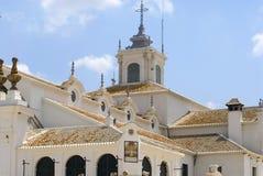 El Rocio, Andalusia. El Rocio, town in south-west of Spain. Andalusia royalty free stock photo