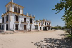 El Rocio Hiszpania Obraz Stock
