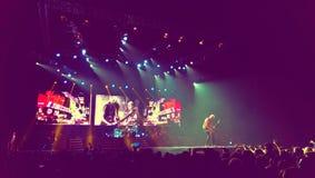 El rock-and-roll de los escorpiones viaja para siempre a 2013 Fotografía de archivo