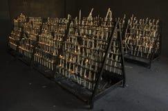 El Rocío candle flames III Royalty Free Stock Image