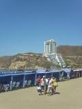El Rodadero Beach in Colombia Stock Images