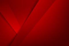 El rojo básico de la geometría del fondo abstracto acodó y coincidencia libre illustration