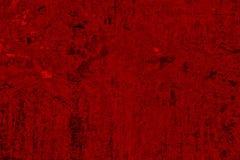 El rojo del Grunge teñe el fondo detallado Foto de archivo libre de regalías