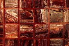 El rojo embaldosa el fondo Fotografía de archivo libre de regalías