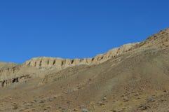 El rojo oscila el barranco Cliff Slope California Fotografía de archivo libre de regalías