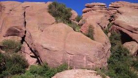 El rojo oscila Colorado fotografía de archivo