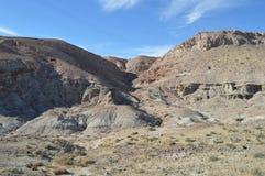 El rojo oscila los acantilados California de la tabla del barranco Imagen de archivo libre de regalías
