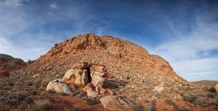 El rojo oscila panorama del parque de estado Fotografía de archivo
