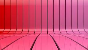 El rojo raya el fondo de la pendiente Libre Illustration