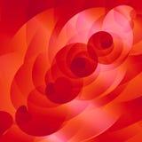 El rojo remolina modelo Fotografía de archivo libre de regalías