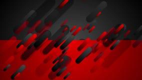 El rojo y el negro ponen en contraste la animación video corporativa de la tecnología libre illustration