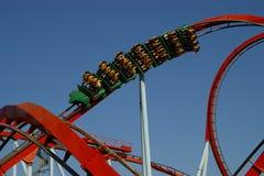 El roller coaster Foto de archivo
