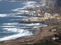 El Roque海岸  库存照片