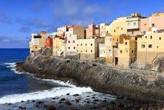 EL Roque de San Felipe, Gran Canaria fotos de stock royalty free