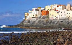 EL Roque de San Felipe, Gran Canaria Photographie stock libre de droits