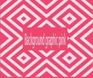 El rosa de los gráficos del fondo Fotografía de archivo libre de regalías