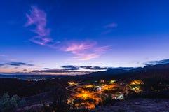 El Rosario de Arriba, Нижняя Калифорния, Мексика Выравнивать взгляд с комнатой Ð стоковое изображение