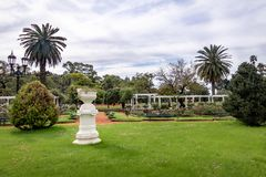 El Rosedal róży park przy Bosques de Palermo, Buenos - Aires, Argentyna obraz stock