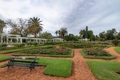 El Rosedal Rose Park at Bosques de Palermo - Buenos Aires, Argentina stock photo