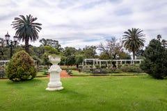 EL Rosedal Rose Park em Bosques de Palermo - Buenos Aires, Argentina imagem de stock
